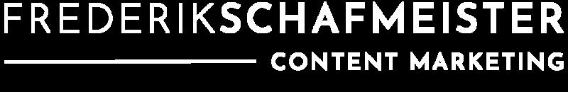 Logo Frederik Schafmeister weiß