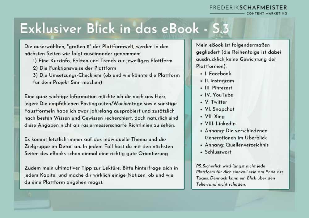 Blick in das Inhaltsverzeichnis eBook: Plattformen-Check 360