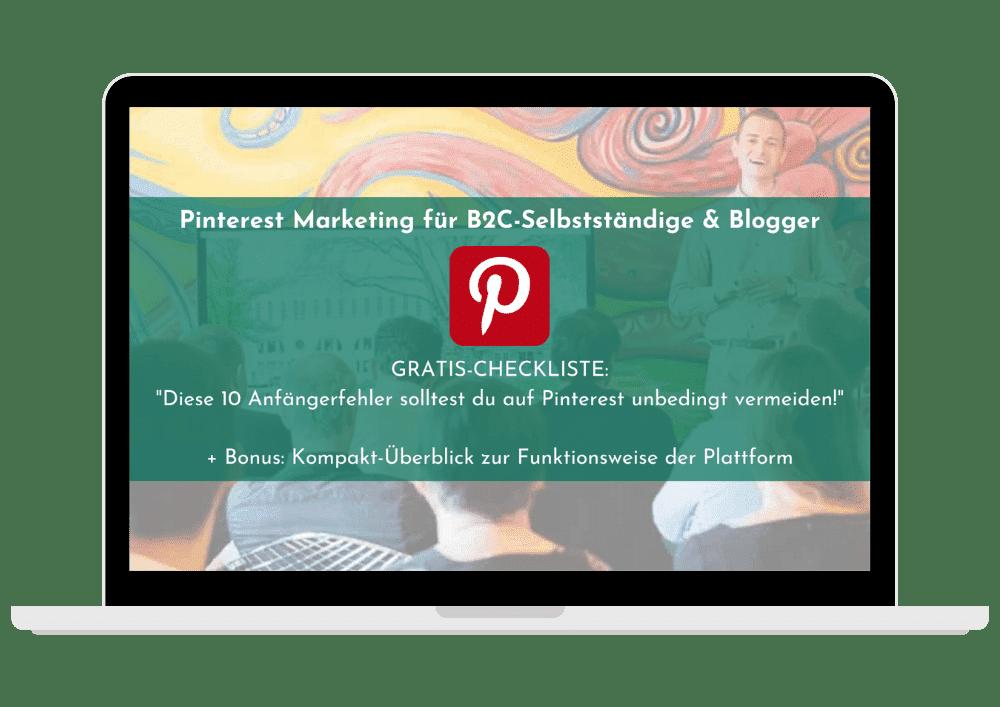 Pinterest Checkliste 2020, Vorschauansicht